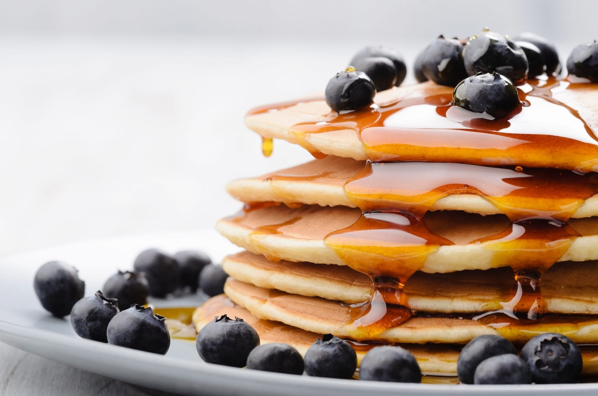 Low Sodium Blueberry Pancakes