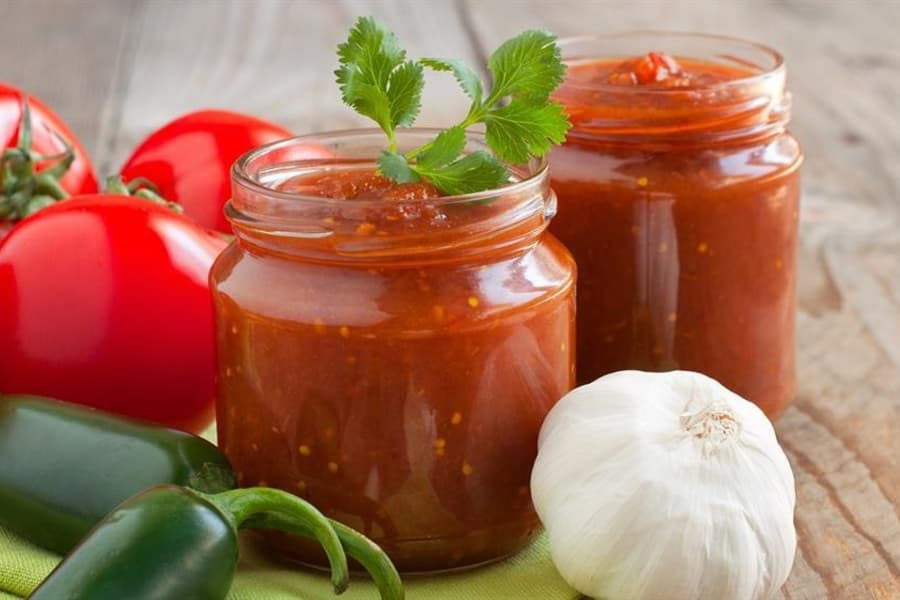 60 Second Low Sodium salsa