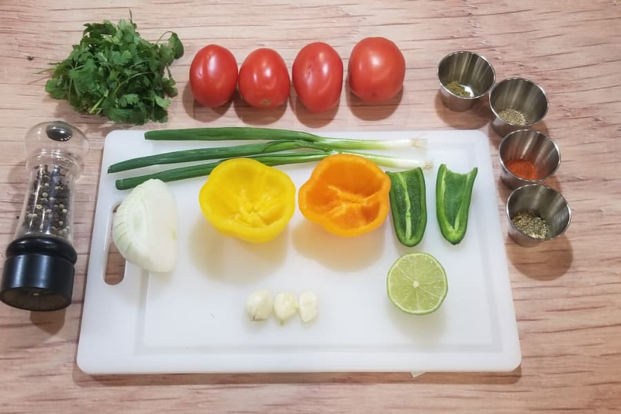 low sodium salsa ingredients