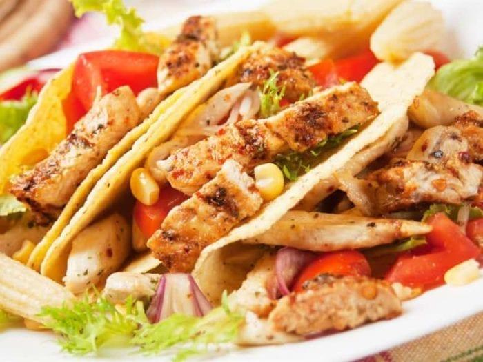 low sodium chicken tacos