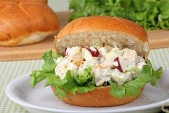 low sodium chicken salad