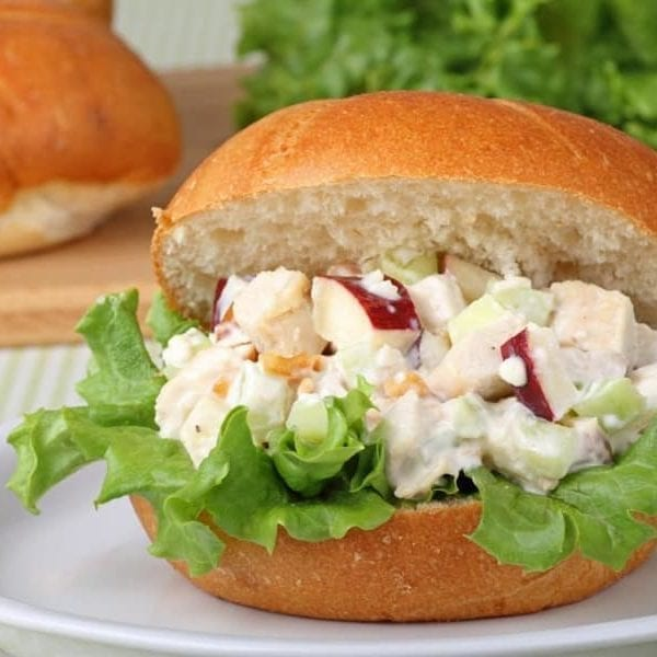 low sodium chicken salad