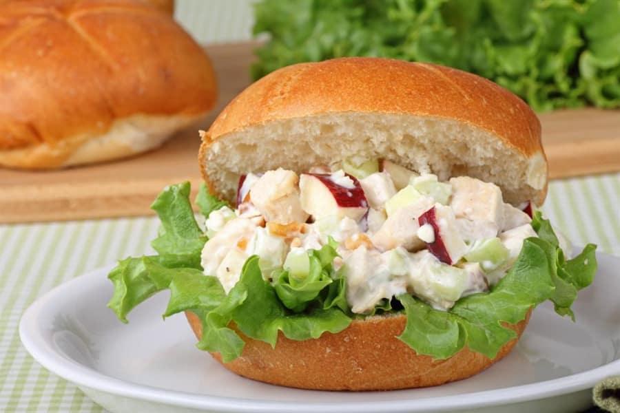 Low Sodium Fruity Chicken Salad