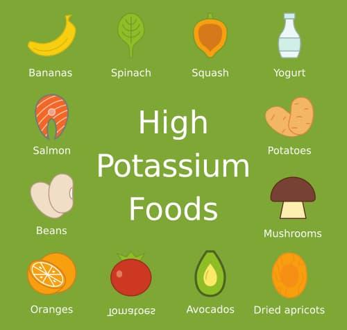 potassium foods point kidney