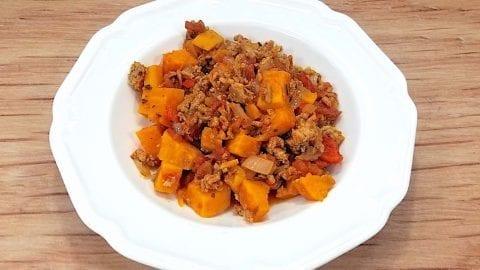 Low Sodium Sweet Potato Turkey Chili Mouth Watering