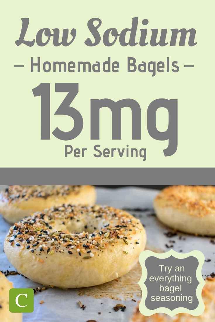 low sodium everything bagel recipe