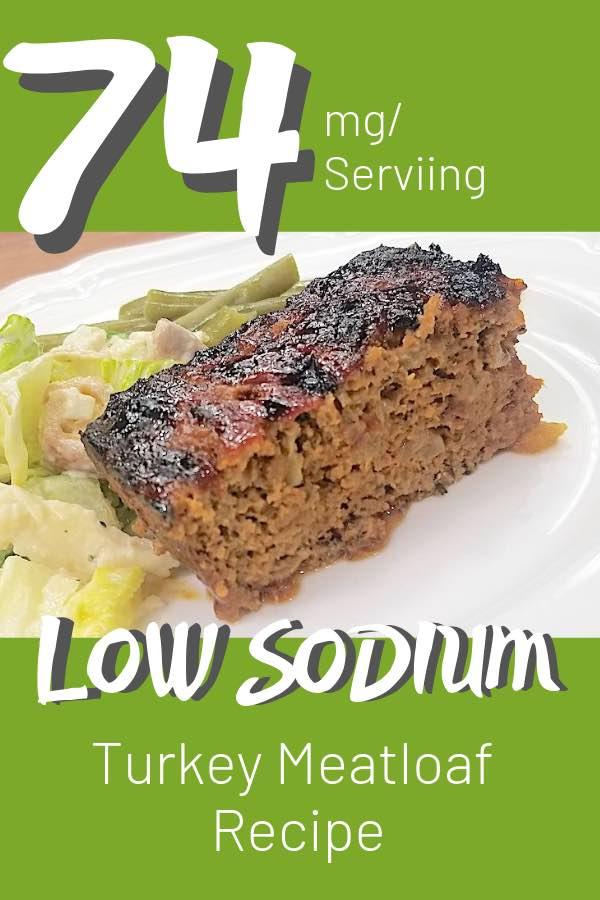 low sodium turkey meatloaf
