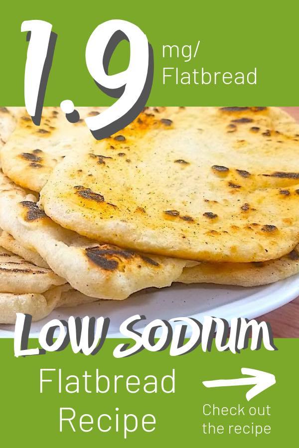 low sodium flatbread recipe
