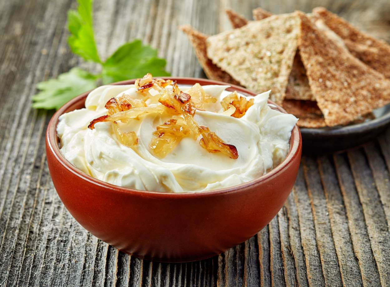 low sodium french onion dip