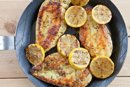 low sodium lemon oregano chicken recipe