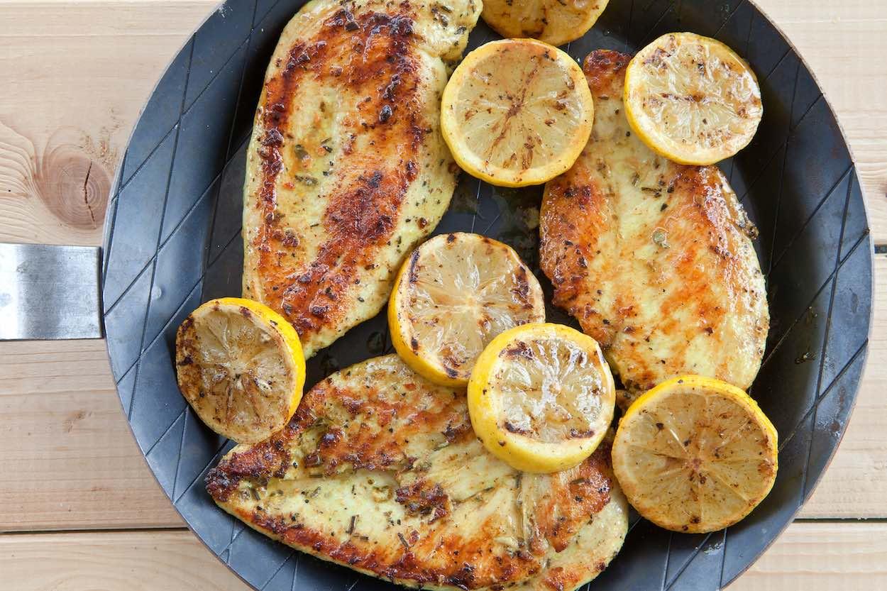 low sodium lemon oregano chicken recipe