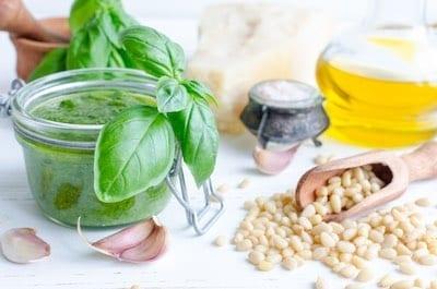 Salt-Free Pesto Sauce