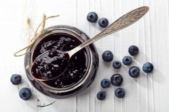 Low Sodium Blueberry Compote