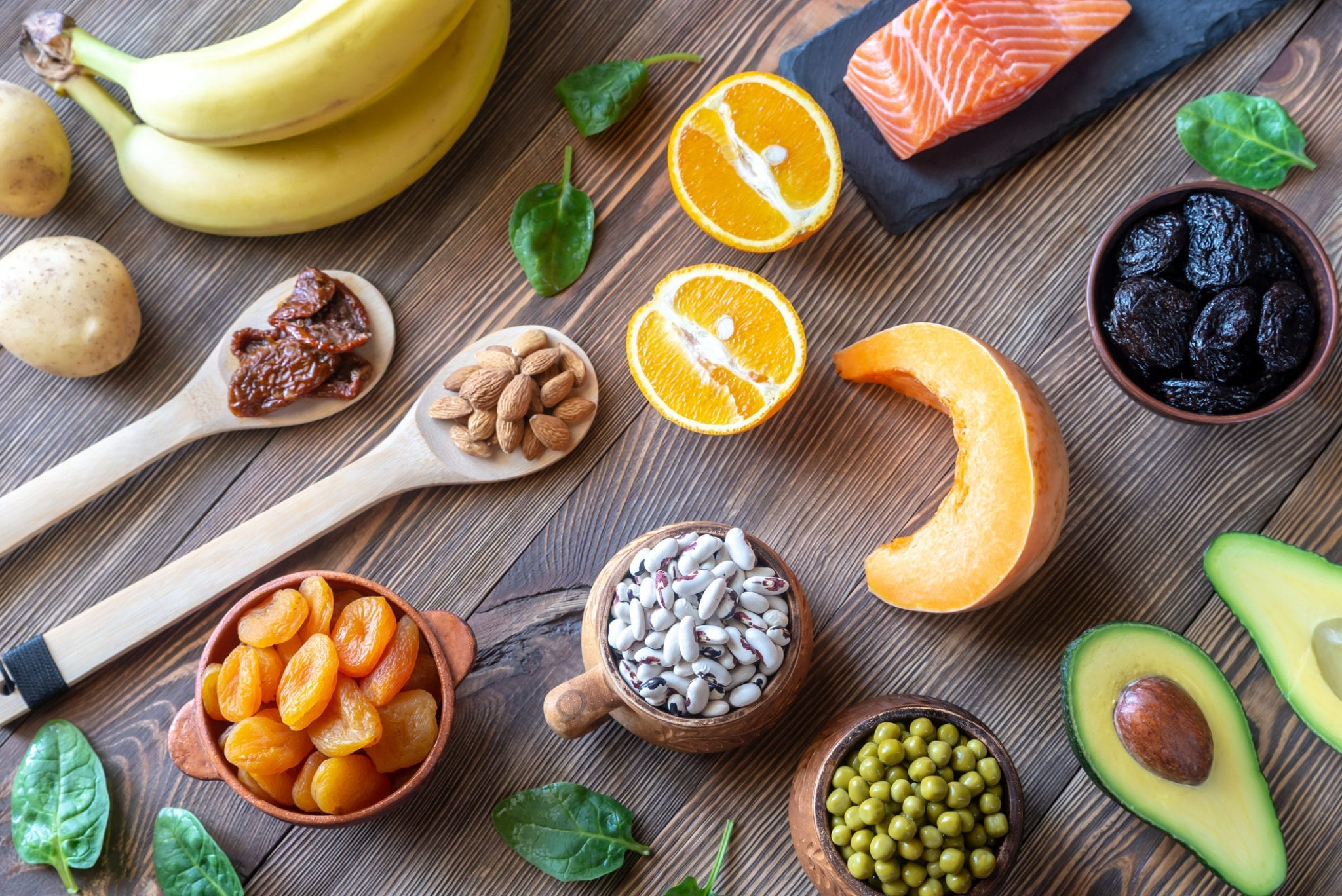 what foods have high potassium